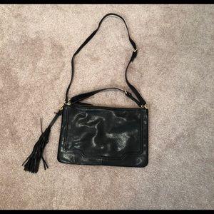 Banana Republic black clutch handbag